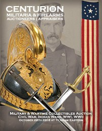 MILITARY & WARTIME COLLECTIBLES AUCTION - Civil War, Indian Wars, WWI, WWII