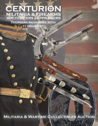 Militaria Auction - Civil War, Indian Wars, WWI, WWII Wartime Collectibles